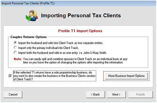 Export Profile T1 Screenshot (Step 3)
